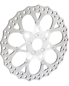 TWO-PIECE FLOATING BRAKE ROTORS
