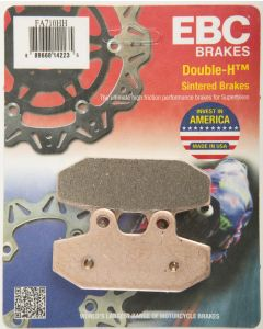 BRAKE PADS REAR HH SINTERED `18-UP SOFTAILS