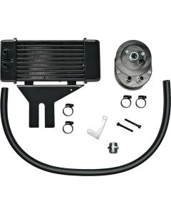 LOWMOUNT 10-ROW OIL COOLER BLACK
