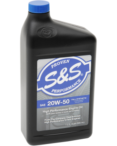 20W-50 HIGH-PERFORMANCE FULL-SYNTHETIC ENGINE OIL