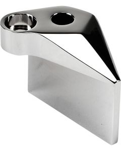 SIDE MIRROR ADAPTER CHROME RIGHT