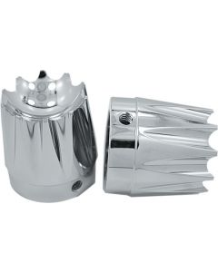 AXLE NUT COVER EXCALIBUR CHROME 1""