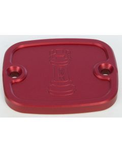 FRONT MASTER CYLINDER COVER RED
