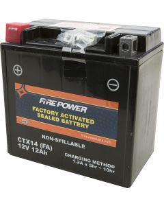 BATTERY CTX14 SEALED FACTORY ACTIVATED