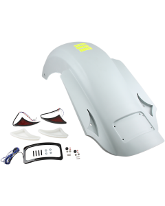 CHUPA REAR FENDER FOR DRAG SPECIALTIES STRETCHED SADDLEBAGS