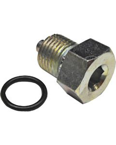 TRANS DRAIN PLUG ZINC STOCK BIG TWIN 00-UP