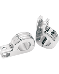TWO-PIECE FOOTPEG CLAMPS