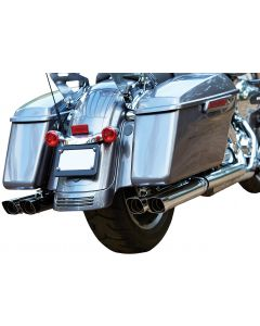 DOUBLE DOWN MUFFLERS CHROME FLH/FLT 95-08