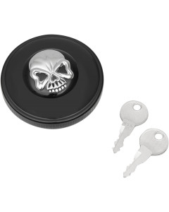 SCREW-IN LOCKING SKULL GAS CAPS