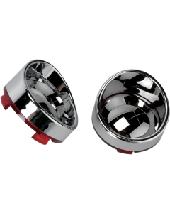 VISOR-STYLE BEZELS AND LENSES FOR DEUCE-STYLE TURN SIGNALS