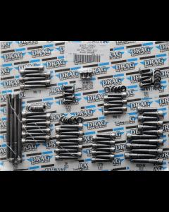 BLACK CHROME SOCKET-HEAD BOLT SETS