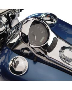 SPEEDOMETER COWL CHROME