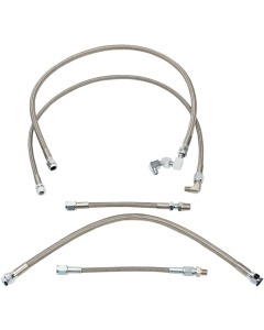 STAINLESS STEEL BRAIDED OIL LINE KITS