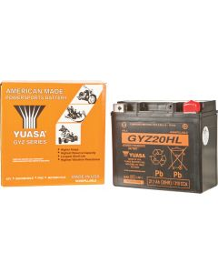 BATTERY GYZ20HL SEALED FACTORY ACTIVATED