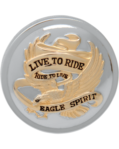 """LIVE TO RIDE"" GAS CAPS"