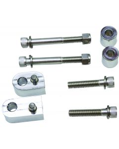 FLOORBOARD EXTENSION KIT CHROME PLATED