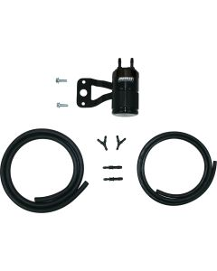 AIR OIL SEPARATOR TWIN CAM W/STOCK AIR CLEANER POLISHED