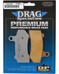 PREMIUM SINTERED METAL BRAKE PADS