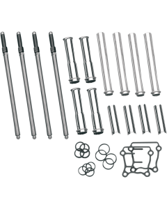 ADJUSTABLE OR QUICKEE PUSHROD KITS WITH COVER KITS