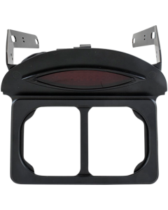 LICENSE PLATE RELOCATION FRAME W/ TAILLIGHT