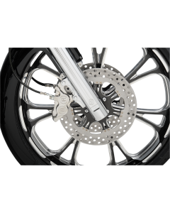 FOUR-PISTON FRONT CALIPERS FOR 300MM ROTORS