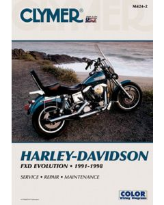 REPAIR MANUAL HARLEY DYNA-GLD