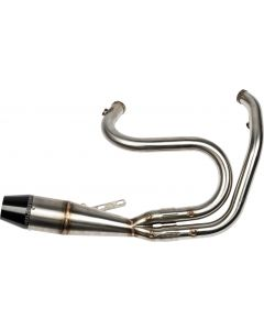 2 IN 1 SHORTY DYNA PIPE RAW