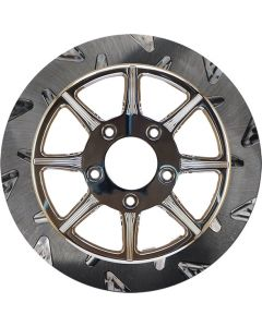 """HIGH CARBON STEEL PHOENIX FRONT ROTOR CHROME 11.8"""""""