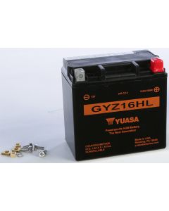 BATTERY GYZ16HL SEALED FACTORY ACTIVATED