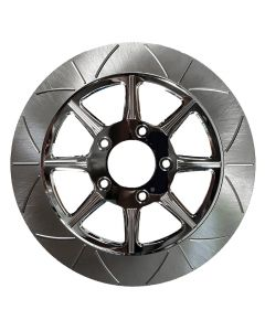 """HIGH CARBON STEEL PHOENIX FRONT ROTOR CHROME 11.5"""""""