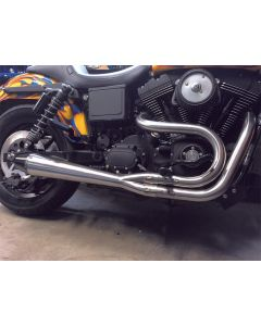 2IN1 DYNA PIPE BRUSHED SS